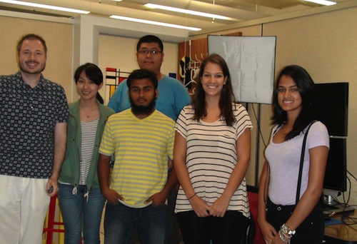 Research Team during Summer 2011